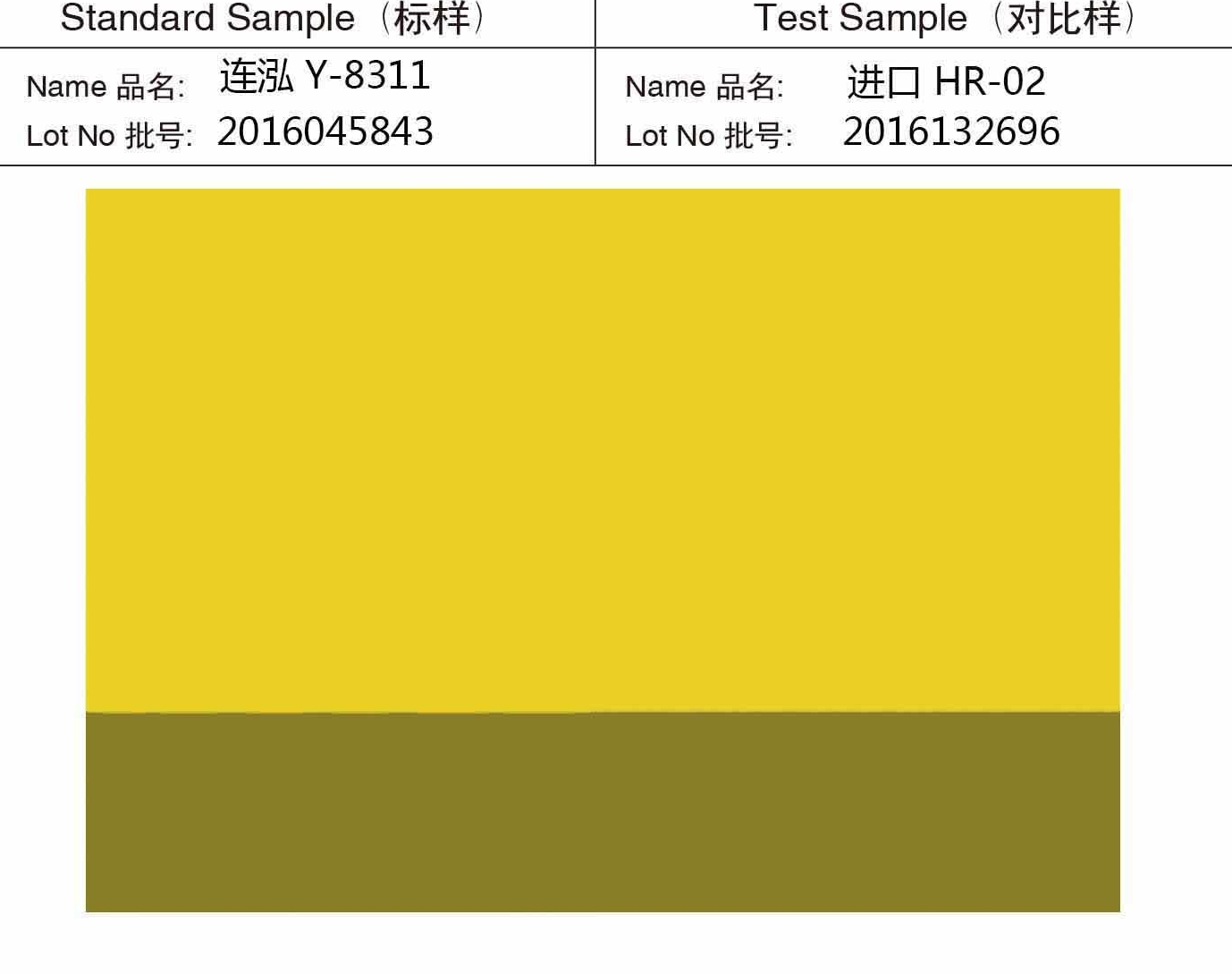 Yellow 8311(P.Y.83)